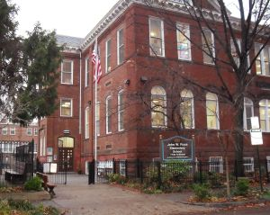 Ross Elementary School at Dupont Circle will be one of the only elementary schools from Georgetown to Chinatown, if Francis-Stevens Education Campus and Garrison Elementary School are closed.  Photo: Annette Birch.