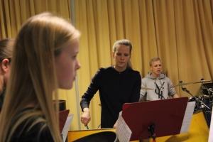 De unge var også repræsenteret d. 22. november 2014 i Gladsaxe Musikskoles Big Band. Foto: Annette Birch.